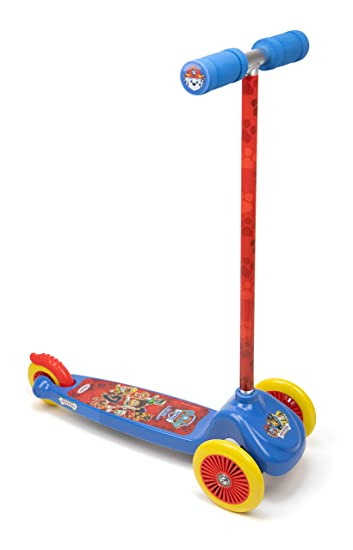 Amazon.com: Paw Patrol OPAW199-C Kids Three Wheel Flex ...