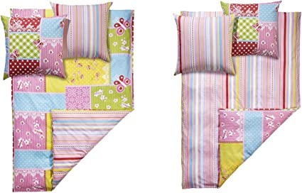 Meradiso Renforcé Reversible Pillowcase With Useful Buttons New