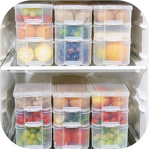 Contenedores de almacenamiento de alimentos para refrigerador ...