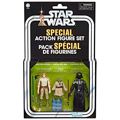 Kenner Star Wars Cave of Evil Special Action Figure Set Exclusive Vintage Edition: Toys & Games