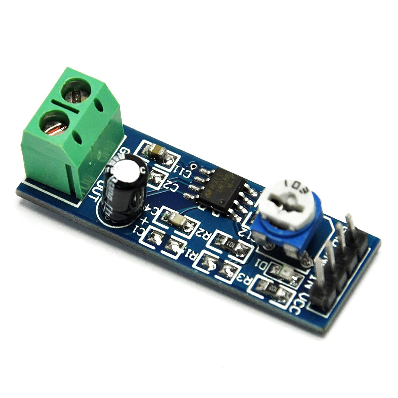 Gikfun 200 Times Gain 5v 12v Lm386 Audio Amplifier Audioamp Board The Features A Power Module For Arduino Ek1236 Computers Accessories