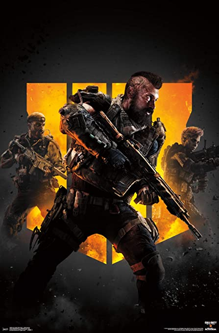 Amazon Com Trends International Call Of Duty Black Ops 4 Group Key Art Wall Poster Multi Home Kitchen