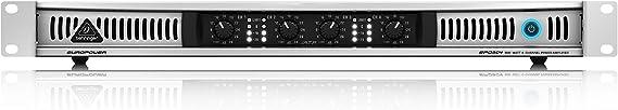 Behringer Europower EPQ304 Professional 300-Watt Light Weight 4-Channel Power Amplifier
