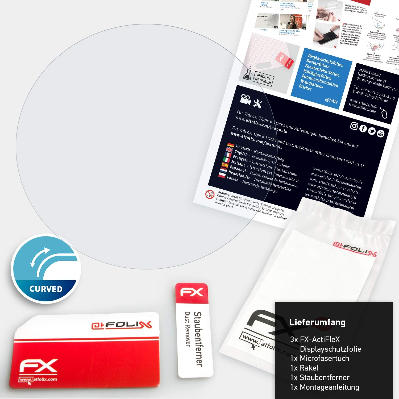atFoliX Película Protectora Compatible con Garmin Vivoactive 4s ...