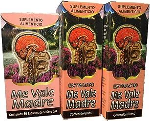 Me Vale Madre 60 Cap y Extracto. Headache Migraine & Stress, Dolor De Cabeza