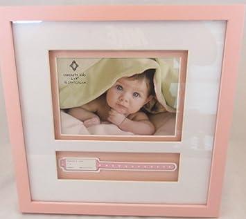 Amazoncom Baby Girl Keepsake Hospital Bracelet Photo Frame Baby