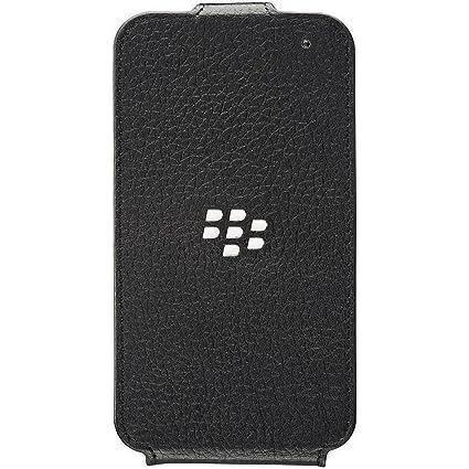 new product 37a24 2ebc1 BlackBerry Flip Case for Q5 - Black