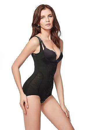 Lavie shape - Shapewear Damen Body stark figurformend, Miederbody mit Bauch-Weg-Effekt