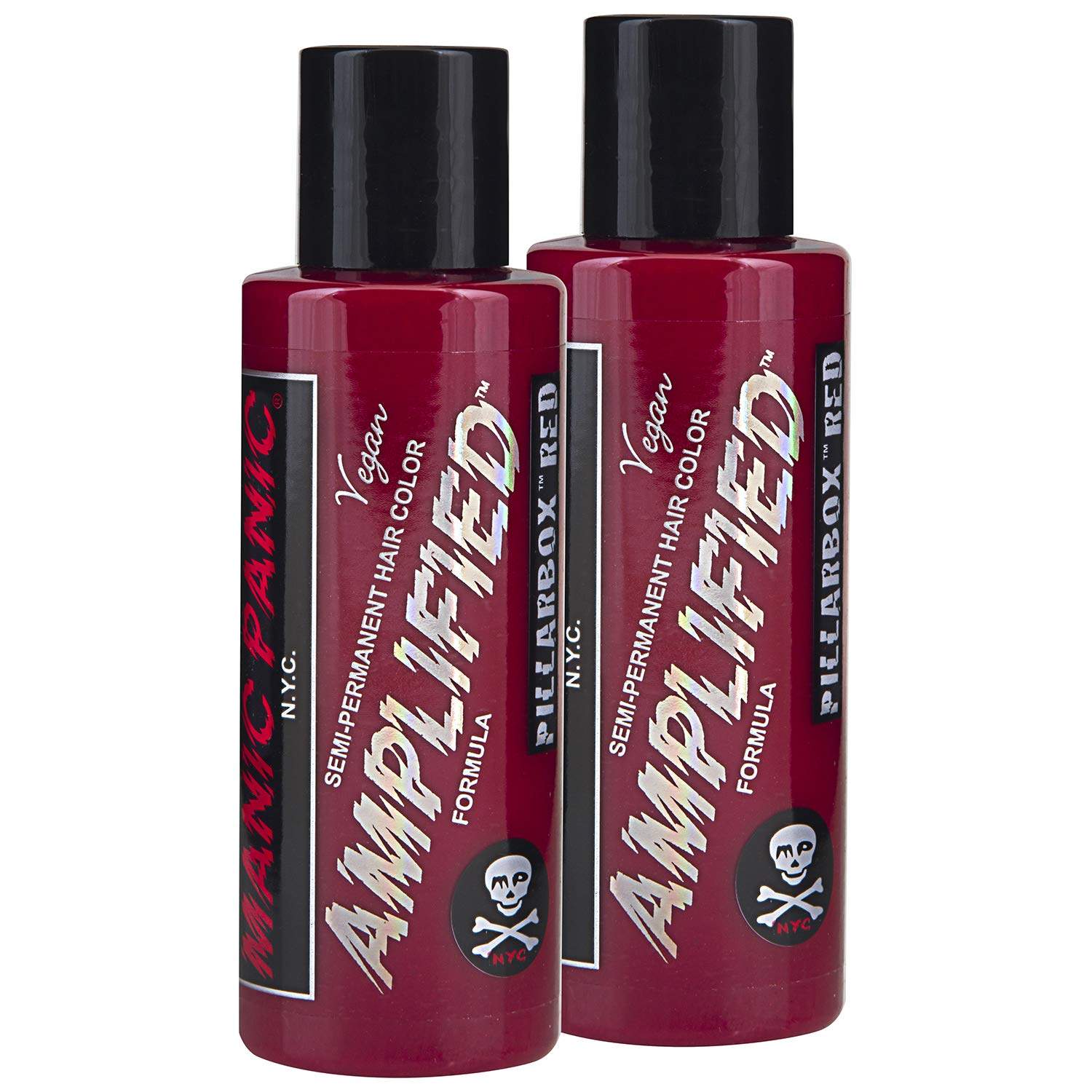Manic Panic Pillarbox Red Hair Color Amplified 2PK