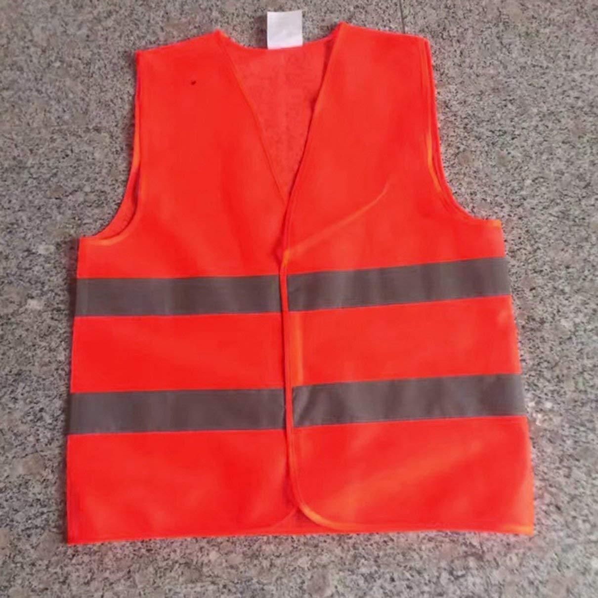 ZMSKJ zhoumaoshunkeji Gilet Protettivo Riflettente per Abbigliamento da Lavoro