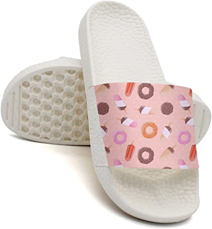 HSJDAPOCOAQ You Have Me At Biscuits Ice Cream Bath Slipper Anti-Slip For Men
