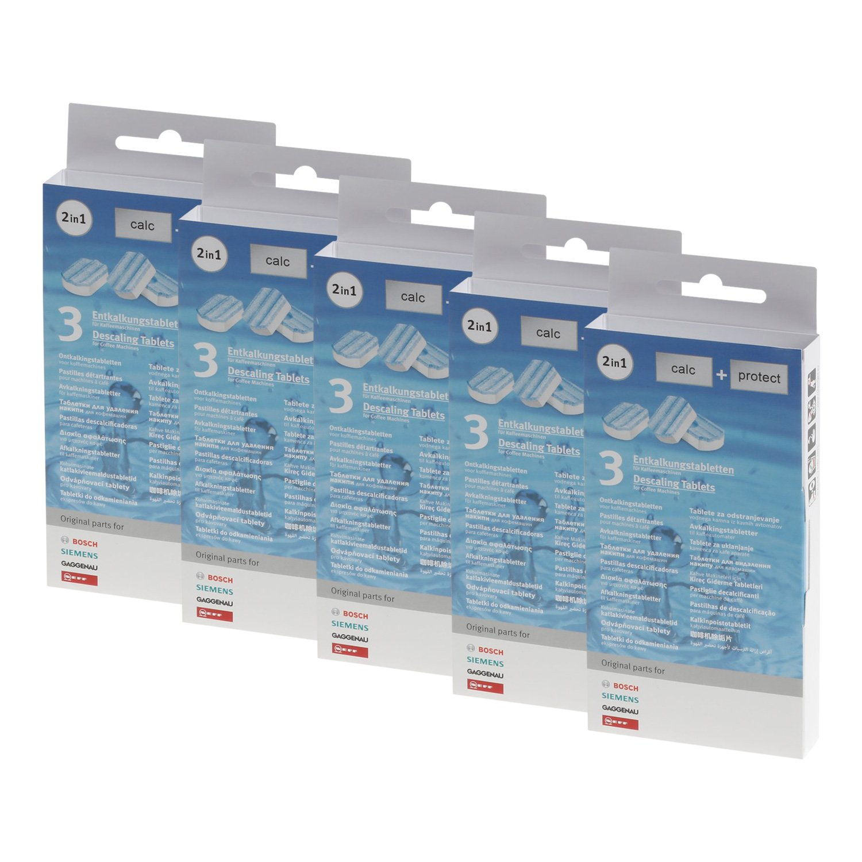 5 x 3 Bosch Siemens - Pastillas descalcificadoras (00311819 ...