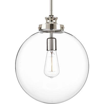 Progress lighting p5328 104 penn one light large pendant polished progress lighting p5328 104 penn one light large pendant polished nickel aloadofball Images