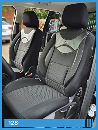 Ma/ß Sitzbez/üge kompatibel mit Mercedes Vito Viano W639 Fahrer /& Beifahrer ab FB:128