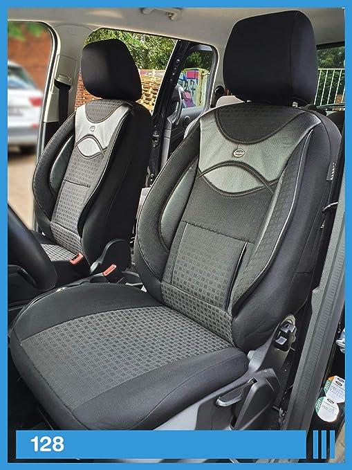 Maß Sitzbezüge Kompatibel Mit Skoda Karoq Fahrer Beifahrer Ab 2017 Fb 128 Baby