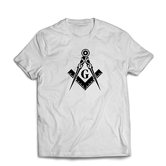c0d75f33 lepni.me Men's T-Shirt Fraternal & Masonic Logo Freemasonry Square and  Compass (