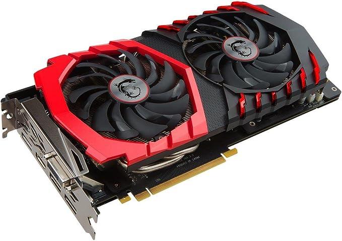 MSI GAMING GeForce GTX 1060 6GB GDRR5 192-bit HDCP Support DirectX 12 Dual TORX 2.0 Fan VR Ready Graphics Card (GTX 1060 GAMING X 6G)