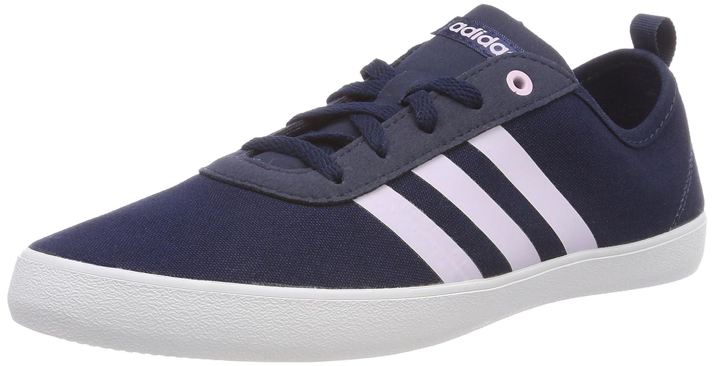 Adidas Qt Vulc 2.0 W, Zapatillas de Deporte para Mujer 40 EU|Azul (Maruni / Aerorr / Ftwbla 000)