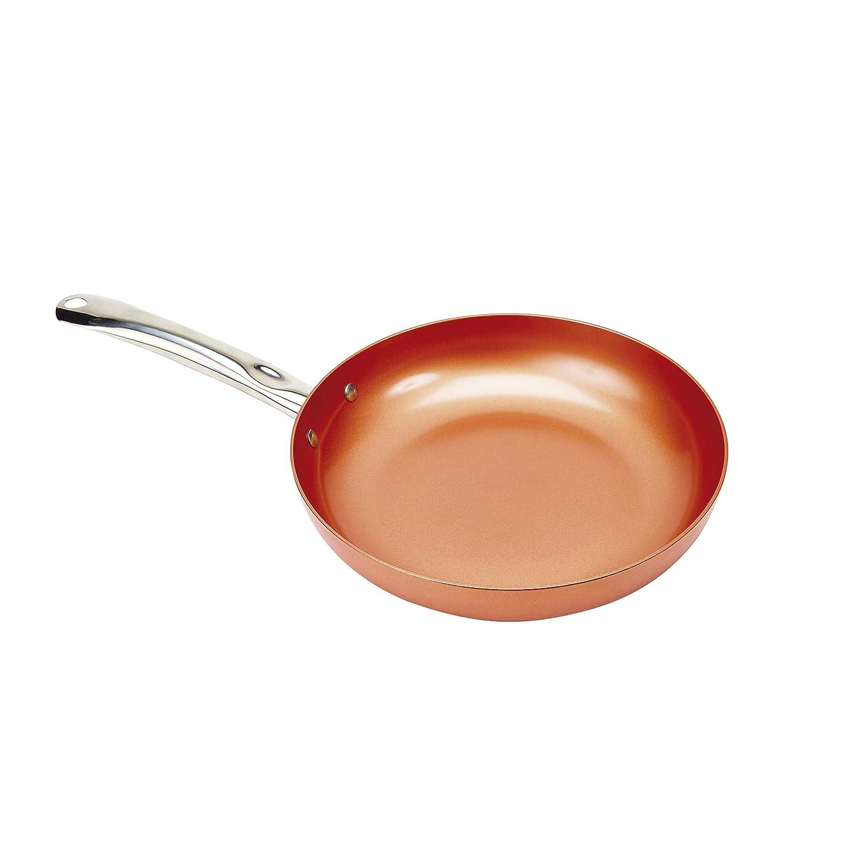 Sartén Copper Kitchen - La Revolucionaria Sartén de Cobre, no se raya y los alimentos no se pegan a la superficie!: Amazon.es: Hogar
