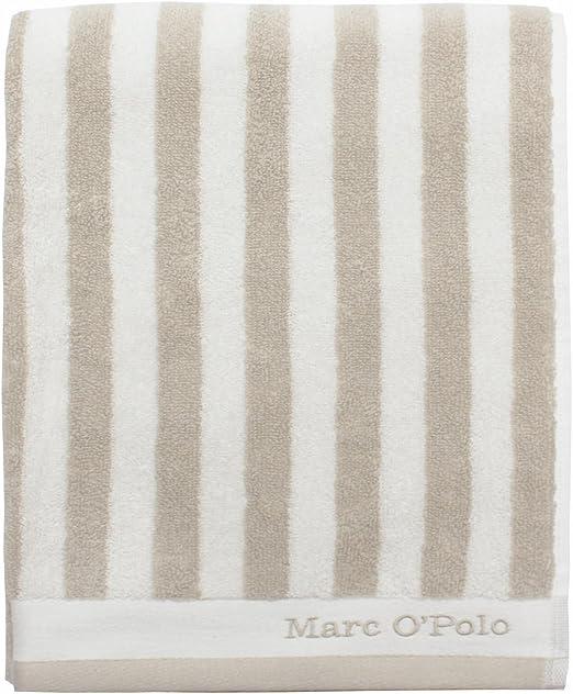 Marc O Polo – Toalla Ducha Toalla de sauna Classic Stripe Oatmeal ...
