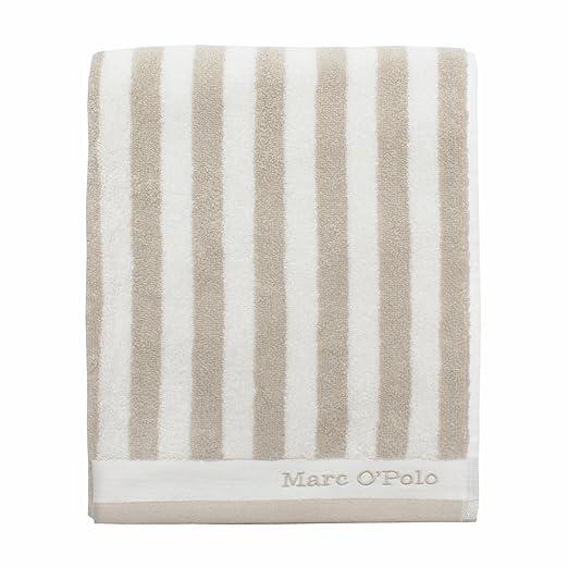 Marc O Polo - Toalla Ducha Toalla de sauna Classic Stripe Oatmeal ...