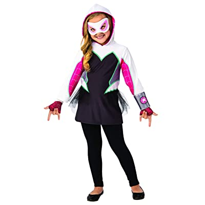 Imagine by Rubie's Child's Marvel Rising Ghost-Spider Dress Up Set, Small