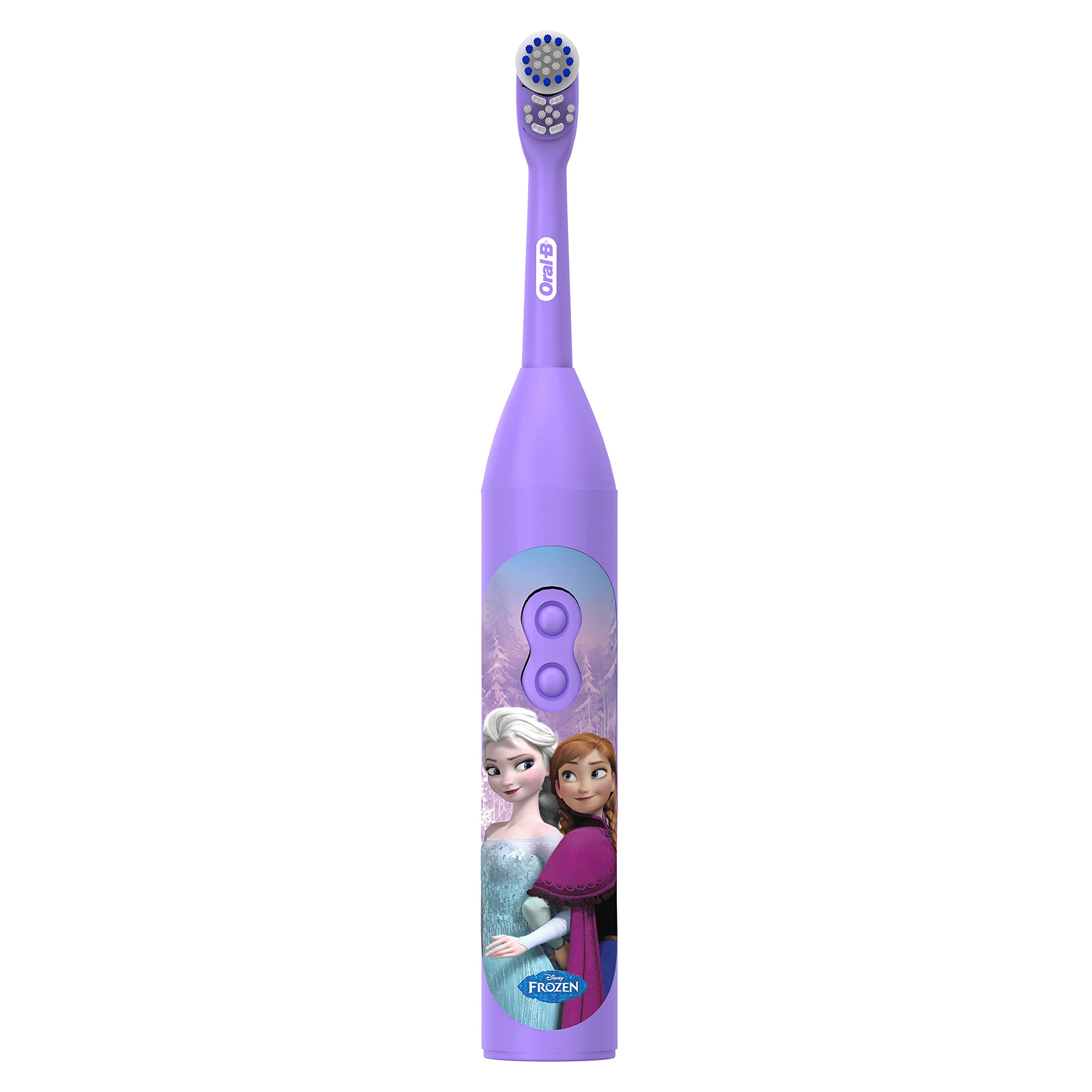Oral-B Pro-Health Jr. Battery Powered Kids Toothbrush featuring Disneys Frozen,
