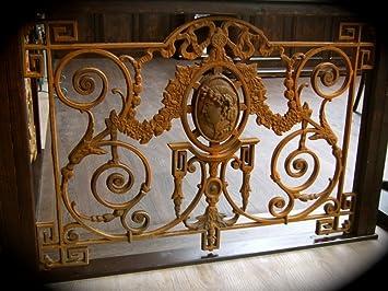 Antikas Gelander Mit Medaillon Franzosisches Balkon Gitter Antik