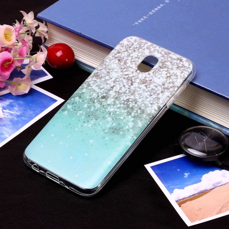 Carols Coque Samsung Galaxy J3 2017 Samsung Galaxy J3 2017 SM-J330 SM-J330 /Étui TPU Silicone Souple Coque Samsung Galaxy J3 2017 - Lapin damour