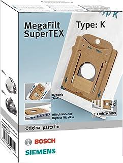 Menalux 2001 - Pack de 5 bolsas sintéticas y 1 filtro para aspiradoras Bosch Arriva, Siemens y Ufesa AS y Mousy: Amazon.es: Hogar
