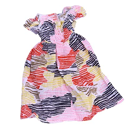 00bb56975f75 Amazon.com  Jili Online Fashion Cute Striped One-piece Party Dress ...