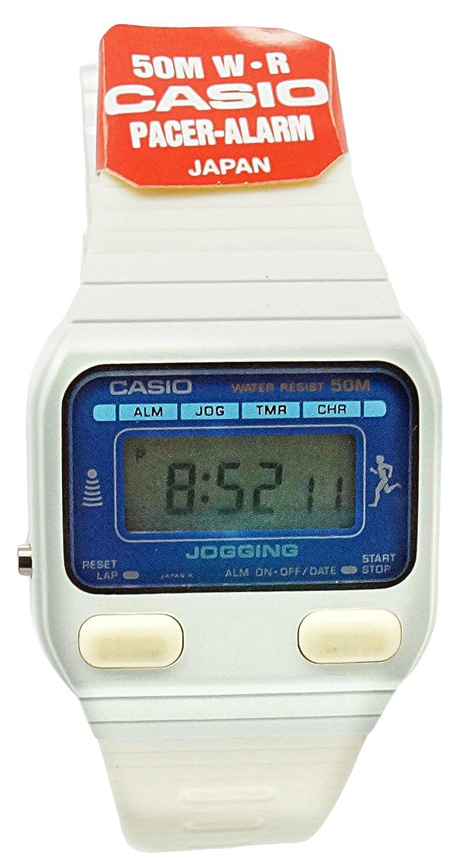 Casio Damen Armbanduhr Jogging Digital Quarz Kautschuk J 30