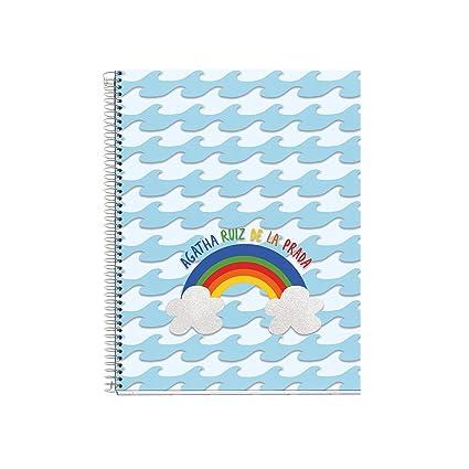 Agatha Ruiz de la Prada 47081 - Notebook 4 polipropileno ...