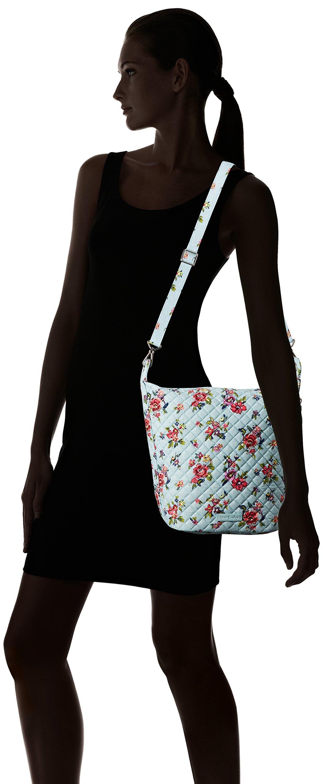 Vera Bradley Carson Hobo Bag, Signature Cotton, Water Bouquet by Vera Bradley (Image #6)