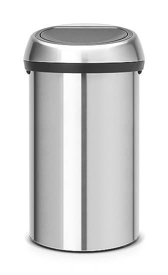 Hervorragend Brabantia Mülleimer mit Kunststoffeinsatz, 60 Liter, Schutz vor  WP02