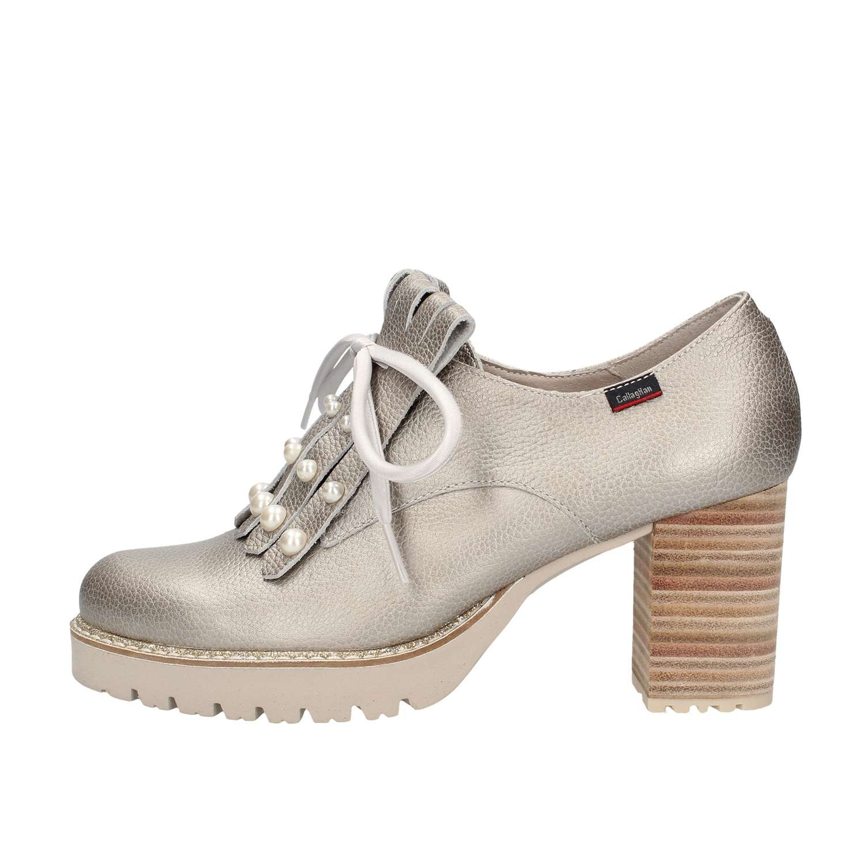 Callaghan los Zapatos de Tacón Cerrados 21921 Silver 35 EU Plata