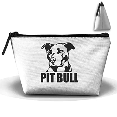 durable service Trapezoid Portable Travel Toiletry Pouch Proud Pit Bull Cosmetic Bags Multifunction Clutch Bag