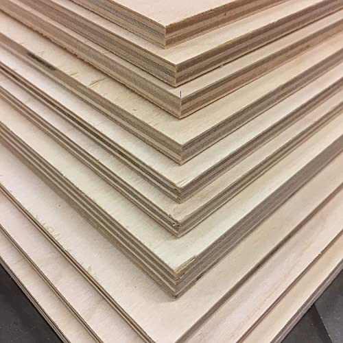 Amazon Com 12 X 24 Sheets Of 1 2 Baltic Birch Plywood 6 Sheets Perfect For Crafting Or Laser Work Handmade