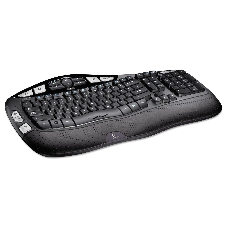 Amazon.com: Logitech 920001996 K350 Wireless Keyboard, Black: Electronics