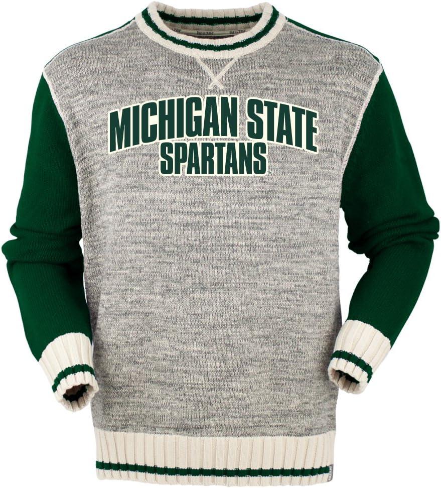 NCAA Michigan State Spartansメンズ新しいクルー