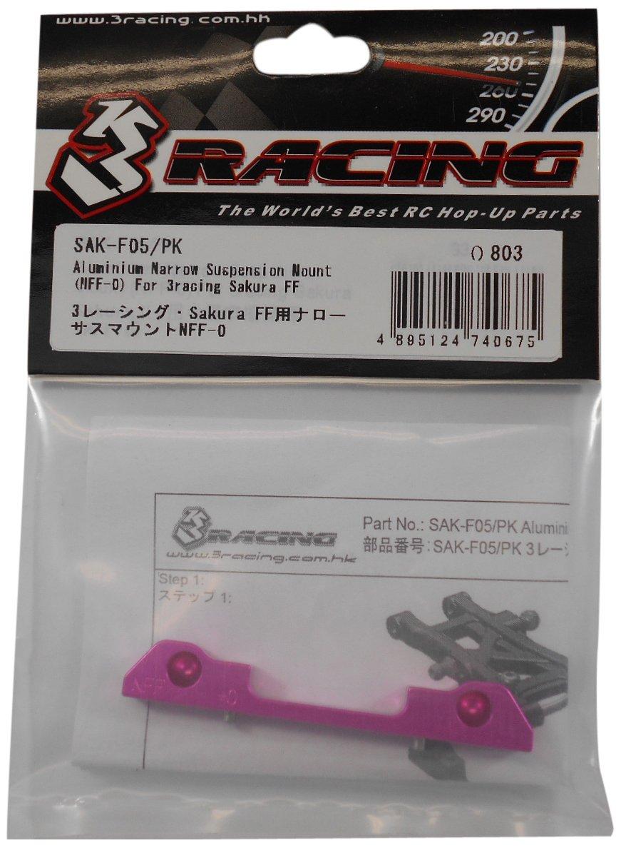 Reducción de precio 3 Racing SAK-F05 / PK Sakura FF para suspensioen estrecho monta NFF-0 (Three Racing)