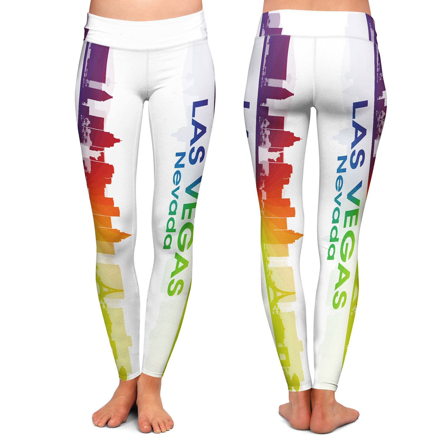 Athletic Yoga Leggings from DiaNoche by Angelina Vick City I Las Vegas Nevada
