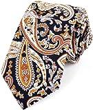 Men's Skinny Cotton Floral Neckties + Wedding Ties & Spring Ties! Perfect Floral Tie for Men.