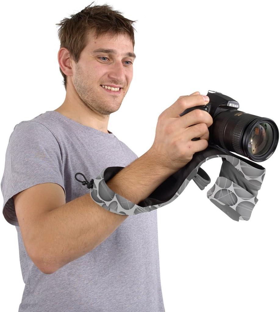 Miggo Padded Camera Strap Pebble Road Miggo Grip /& Wrap Kit for DSLR Cameras