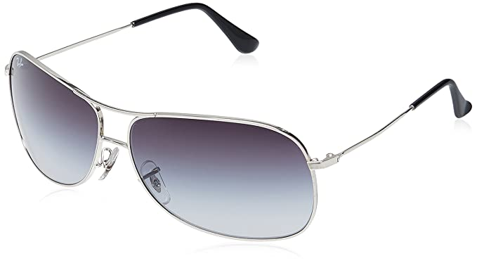 9359695a0619 Image Unavailable. Image not available for. Colour: Ray-Ban Aviator  Sunglasses (Silver) (RB3267|003/8G64)