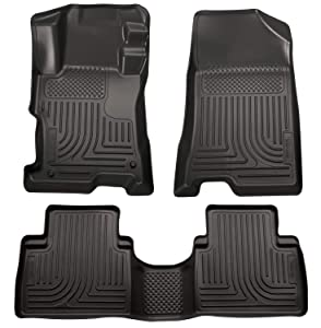 Husky Liners Front & 2nd Seat Floor Liners Fits 08-12 Accord 4 Door