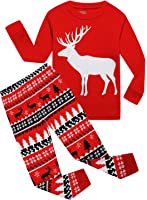 IF Pajamas Christmas Tree Little Boys Girls Pjs Long Sleeve Kid Sets