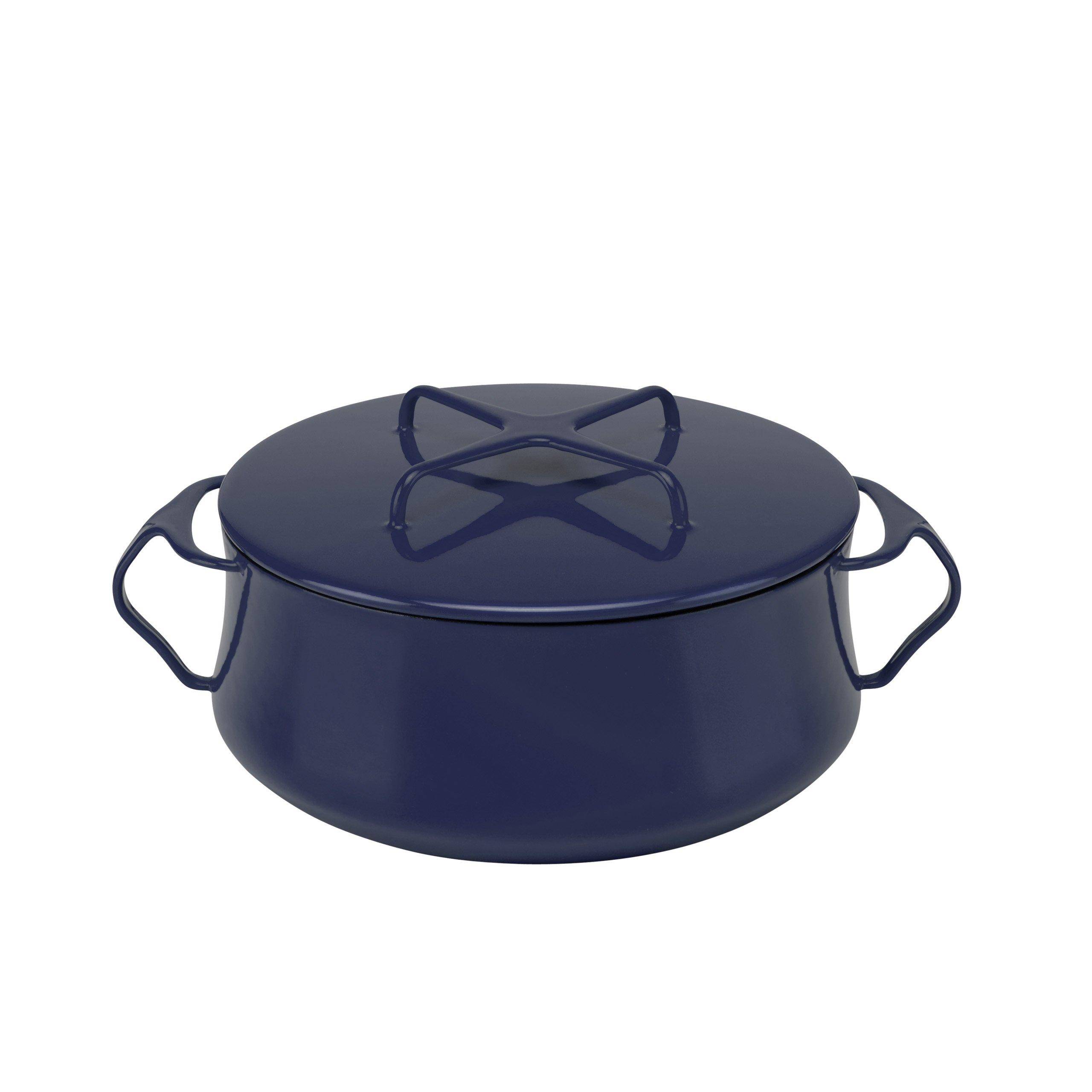 Dansk 834335 Kobenstyle Casserole, 4-Quart, Midnight Blue