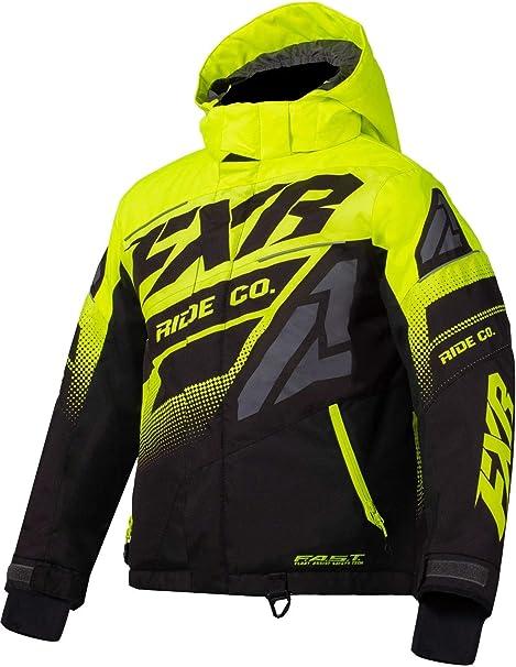 FXR Youth Boost Monosuit 2021 Black//Lime - 14