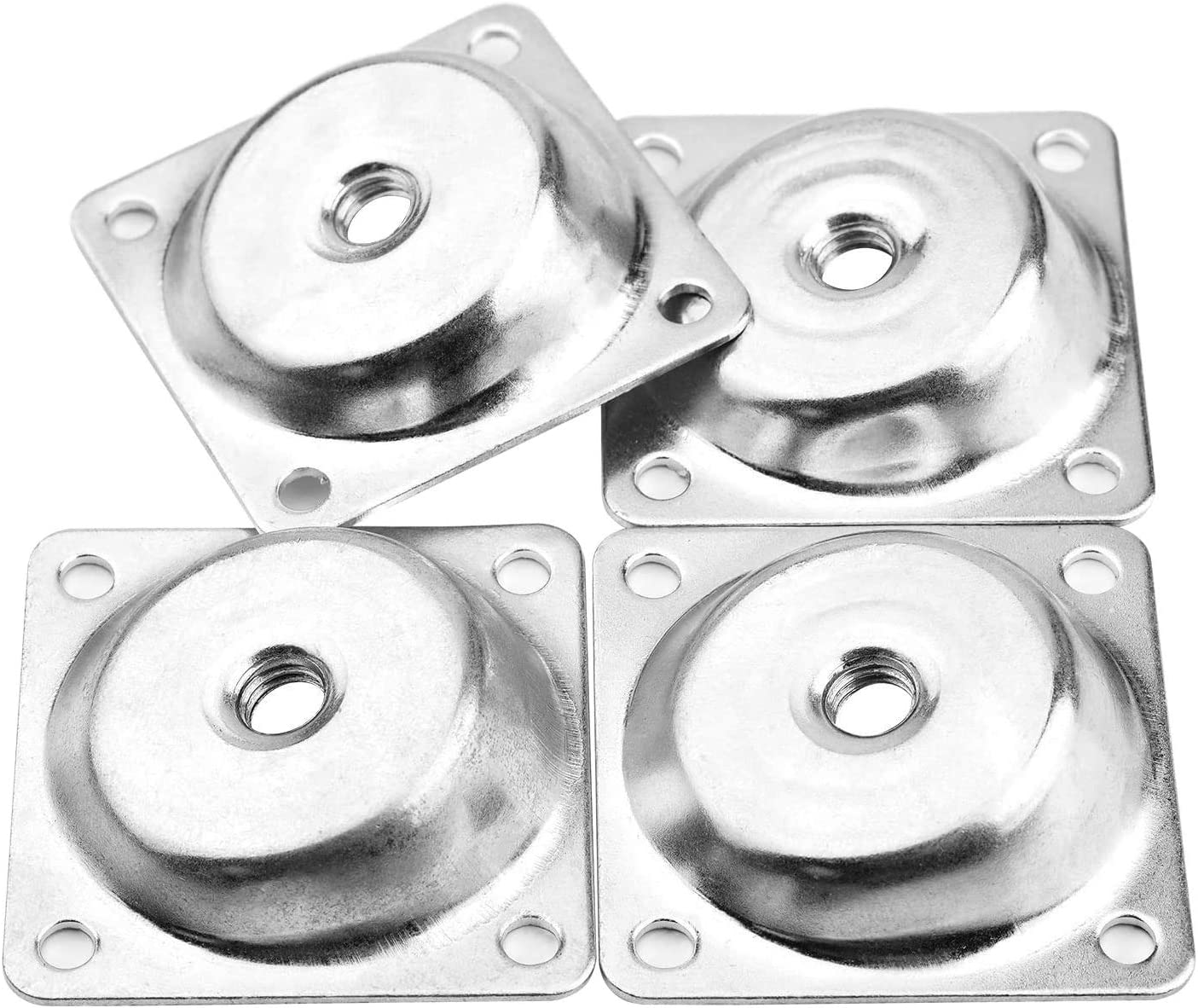 Leg Mounting Plate 5Pcs Strengthen Furniture Leg Connection Board Repair Accessories for Damaged Sofa